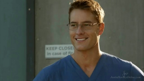 """My hottie wearing glasses as Dr. Will Collins on """"Emily Owens, M.D."""" *fans herself* that smile!!"""