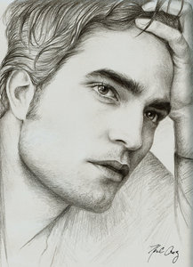 whoever drew this pic of my baby is very talented.They captured him to a T <3