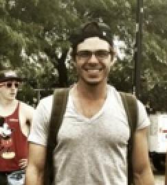 My sexy man wearing glasses!! <3333