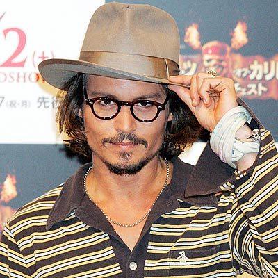 Here's mine of Johnny Depp