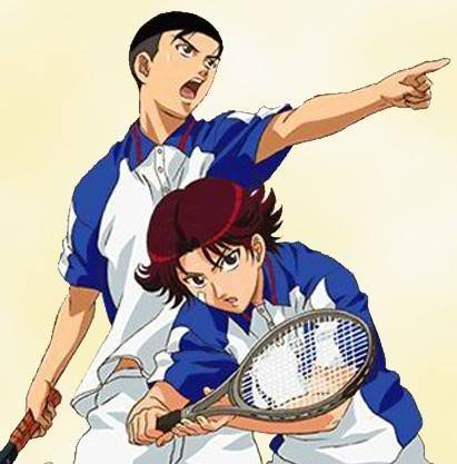 The Golden Pair from Prince of Tennis,they're the best doubles tennis pair in the whole world....!!!!