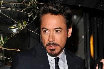 Downey in the rain! :)