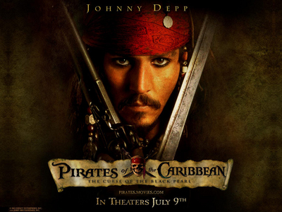 """Pirates of the Caribbean"". I was really impressed, very quickly it became one of my kegemaran movie."