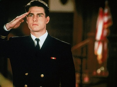 Tom Cruise in A Few Good Men...atten hut:)