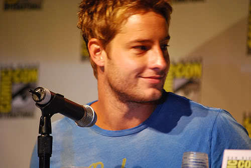 My sweetie at the Comic Con 2008 <333