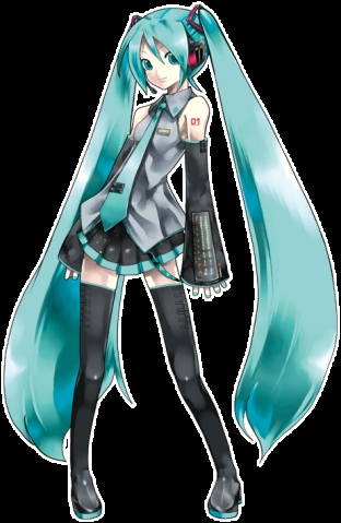 Hatsune Miku is the only character I've cosplayed as so far. It was last Halloween. I'm planning to do Azu-nyan from K-ON sometime. I'm sure LOTS of other people here have cosplayed as Miku too.