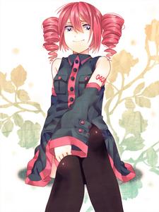 Kind of an Anime character, but... Teto Kasane the UTAUloid. It was a hand-sewn costume, and the wig I had bought. :) I want to cosplay in the future; maybe... -Sayaka Miki (Puella Magi Madoka Magica) -Karin Maaka (Chibi Vampire/Karin) -Nano Shinonome (Nichijou)