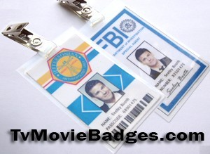 Booth's ID badges...
