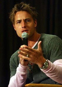 another one from Justin's panel at the Grand Slam Convention <3333