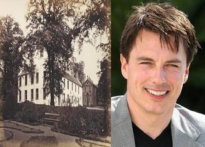 John Barrowman was born in the Mount Vernon area of Glasgow, the picture is from Mount Vernon :)
