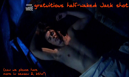 John Barrowman as Captain Jack Harkness sleeping ;) Sleeping beauty☻