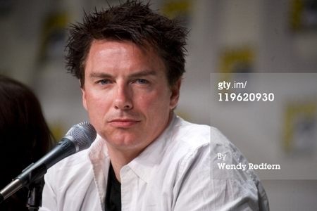 John Barrowman paying attention to the camera ;)