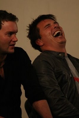 John Barrowman adorable laugh♥