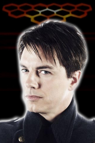 John Barrowman as Captain Jack Harkness's hairstyle..LOVE IT!