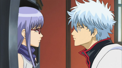 From Gintama, Ayame Sarutobi (the girl) a pervert and a stalker in one XD
