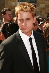 My sweetie at the Daytime Emmy Awards, his hair partly kissed bởi the sun
