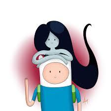 Marcaline because she is awesome, and Finn is awesome. And because in science (boring class) the guys I sit next to and I were talkin' bout who the people in our class would be in adventure time and I was Marcaline and the guy I like was Finn so...Oh and I like the Marshall Lee and Fionna couple so yeah.  And Aren't they cute together? :)