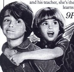 Young Matthew with Joey in a old magazine. :)