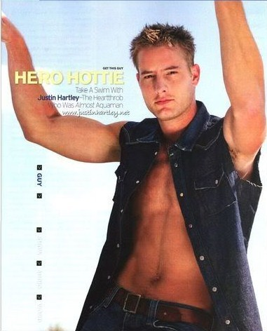 My sweetie in a scan from Instinct magazine <333