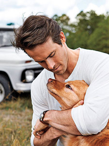 ryan with his dog --so adorable :)
