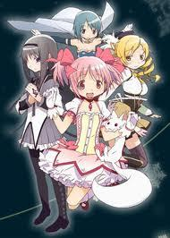 I have a lot but i'll post one i never gepostet before...the magical girls from puella magi madoka magica.