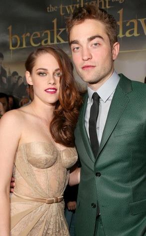 Robert Pattinson and Kristen Stewart my TDL costars from the twilight saga