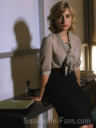 Allison Mack - she and Justin have such a chemistry together <333