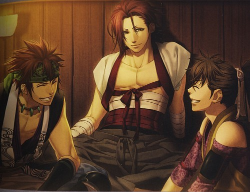 Sano-san, Heisuke-kun and Shinpat-san x3 They're hilarious