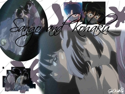 Sango holds Kohaku as someone important to her life!! :)