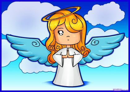 im an angel!