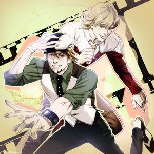 Kotetsu and Barnaby. ^^