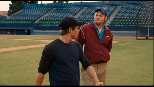 Matthew looking away at his coach. :)