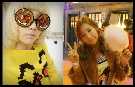 probably most of tu won't understand it cause it's japanese <3 It's SNSD/Girls Generation's Stay Girls. No matter how you'll be mature o grown up, in my corazón i will always be a girl :)) The girl o lady in the picture is not me but SNSD/Girls Generation's Kid Leader Taeyeon <33