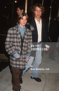 Matthew with Joey. :)