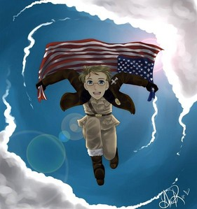 American Idiot por Green Day? xD I also think We Weren't Born to Follow por Bon Jovi is a good song for him too~