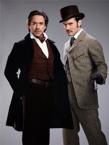 Sherlock Downey and his dearest freind Jude Watson! :))