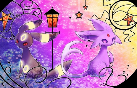 My fav are Espeon and Umbreon