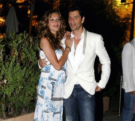 Sakis and his wife Katya