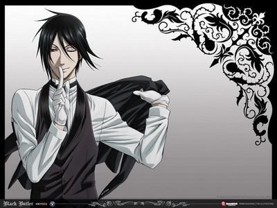 Sebastian, because he's simply one hell of a butler. *Overused line is overused.*