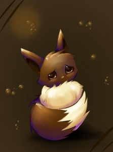 Well Eevee, just Eevee. People seem to not like Eevee for what it is, instead they what it to change. Poor thing doesn't get any Liebe unless it changes. Liebe it for what it is, an Eevee.