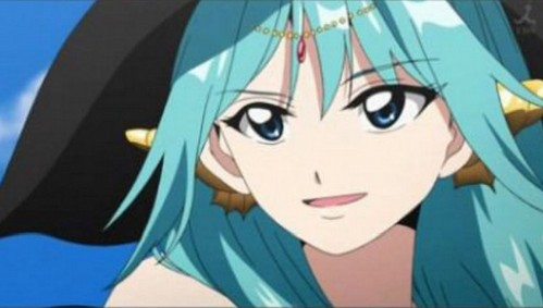 Yamuraiha from Magi: Labyrinth of Magic.