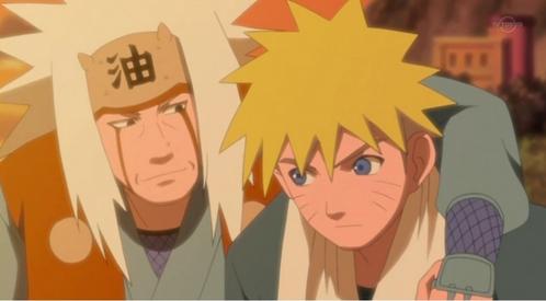 All righty! Jiraiya-sama and Naruto-kun!