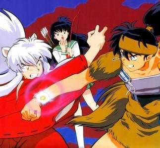 NOTHING beats Inuyasha and Koga :3