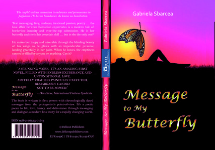 Message to My paruparo sa pamamagitan ng Gabriela Sbarcea is a rapturous and modern pag-ibig story set in Chicago, where dialogue is replaced sa pamamagitan ng text messages and the quest for national identity lands Adelle in a beautifully deranged relationship.
