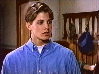 "Jensen in his very first TV role (""Wishbone"") <333"