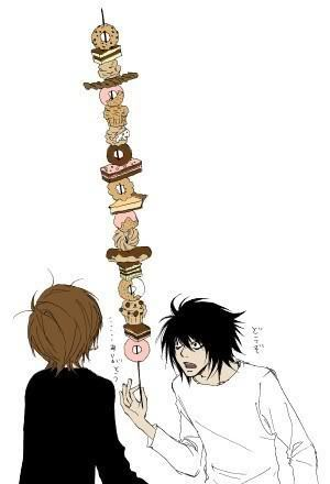 L and Light. x3