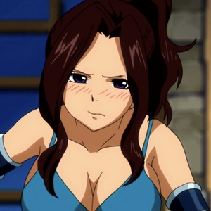 Cana Alberona has brown hair The Heaviest Drinker in Fairy Tail