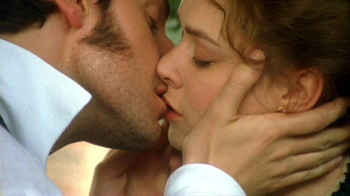 richard armitage চুম্বন with daniela denby-ashe from North & South