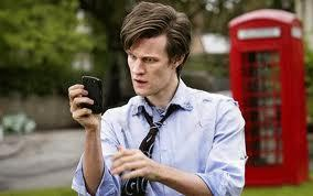 The Doctor making something very clever.