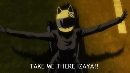 I'd die with Izaya and Souji in my hand X\\3 ((i.e. they killed me))